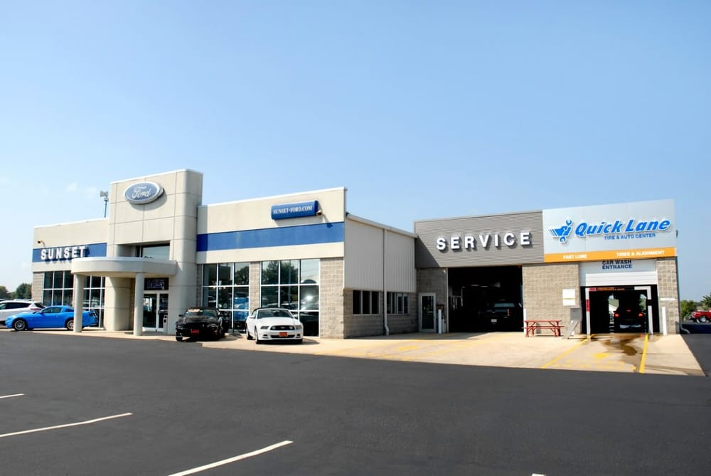 sunset ford of waterloo 11 photos car dealers 1425 n illinois rte 3 waterloo il phone. Black Bedroom Furniture Sets. Home Design Ideas