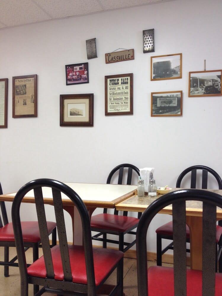 Cassville Restaurant: 44 Seminary Ln, Cassville, PA