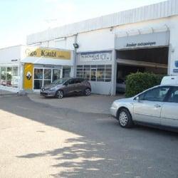garage koubi carrosserie route de saint gilles