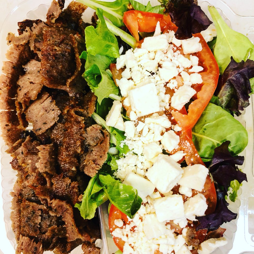 Food from NYC Gyro