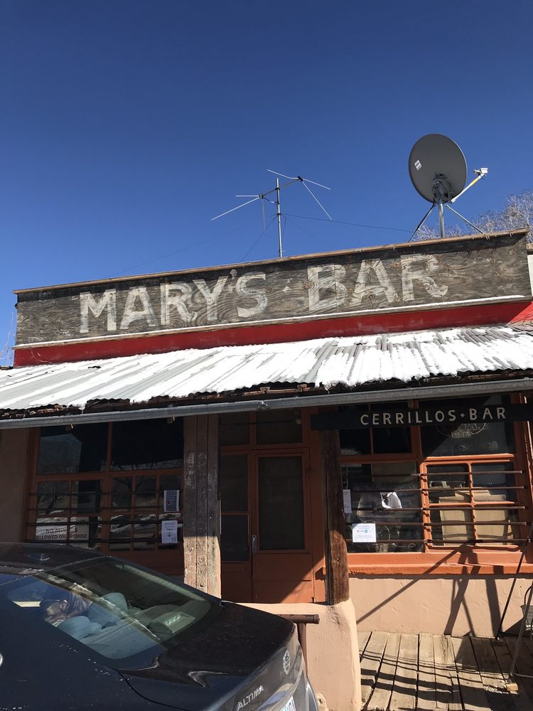 Mary's Bar: 15A 1st St, Cerrillos, NM