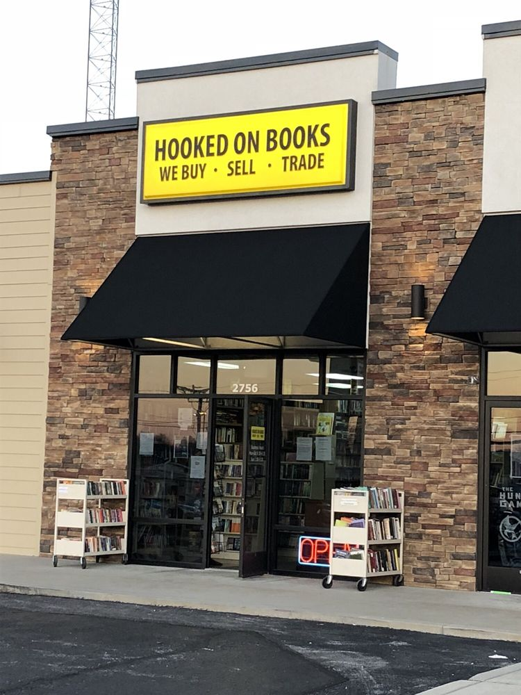 Hooked On Books: 2756 S Campbell Ave, Springfield, MO