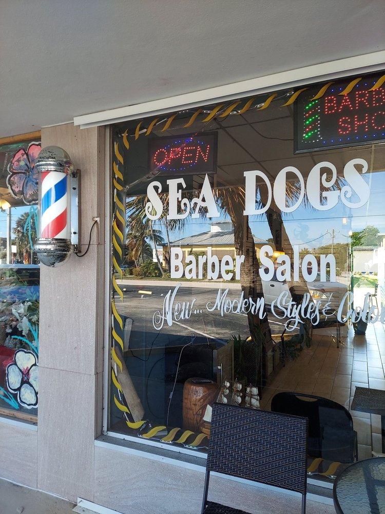 Sea Dogs Barber Salon: 260 N Orlando Ave, Cocoa Beach, FL
