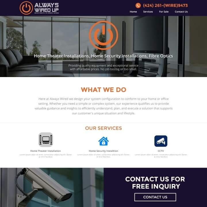 Always Wired - CLOSED - Security Systems - 11852 Menlo Ave, Vermont ...