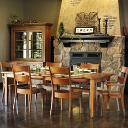 Photo Of Burress Amish Furniture Elgin Il United States Wellington Dining Room