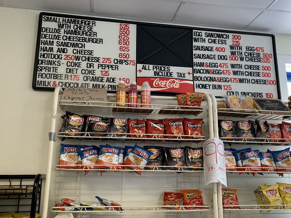 Current Menu as of May 2019 with prices that include tax  - Yelp