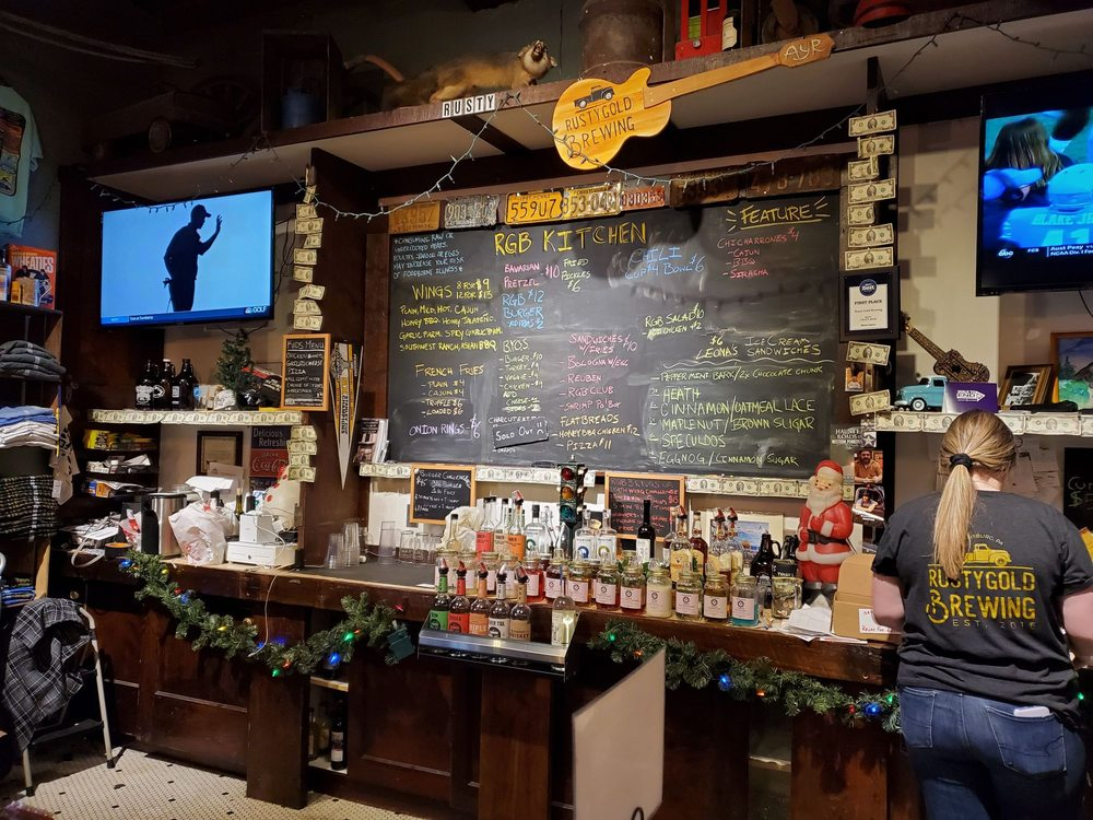 Rusty Gold Brewing: 43 W Pike St, Canonsburg, PA