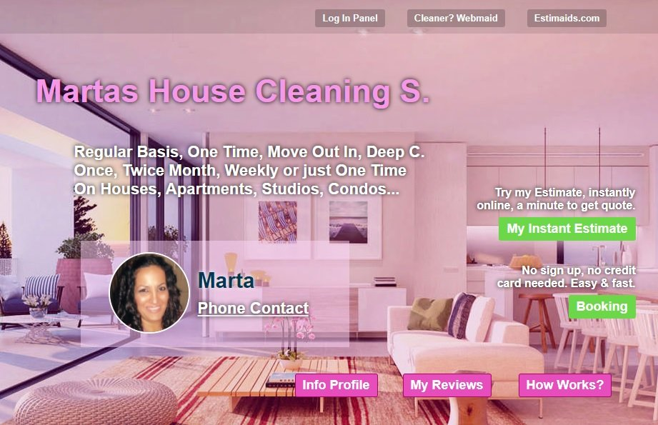 Marta\'s House Cleaning - 19 Reviews - Home Cleaning - Mountain View ...