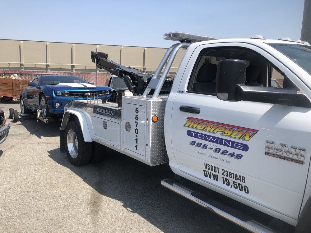 Towing business in East Wenatchee, WA