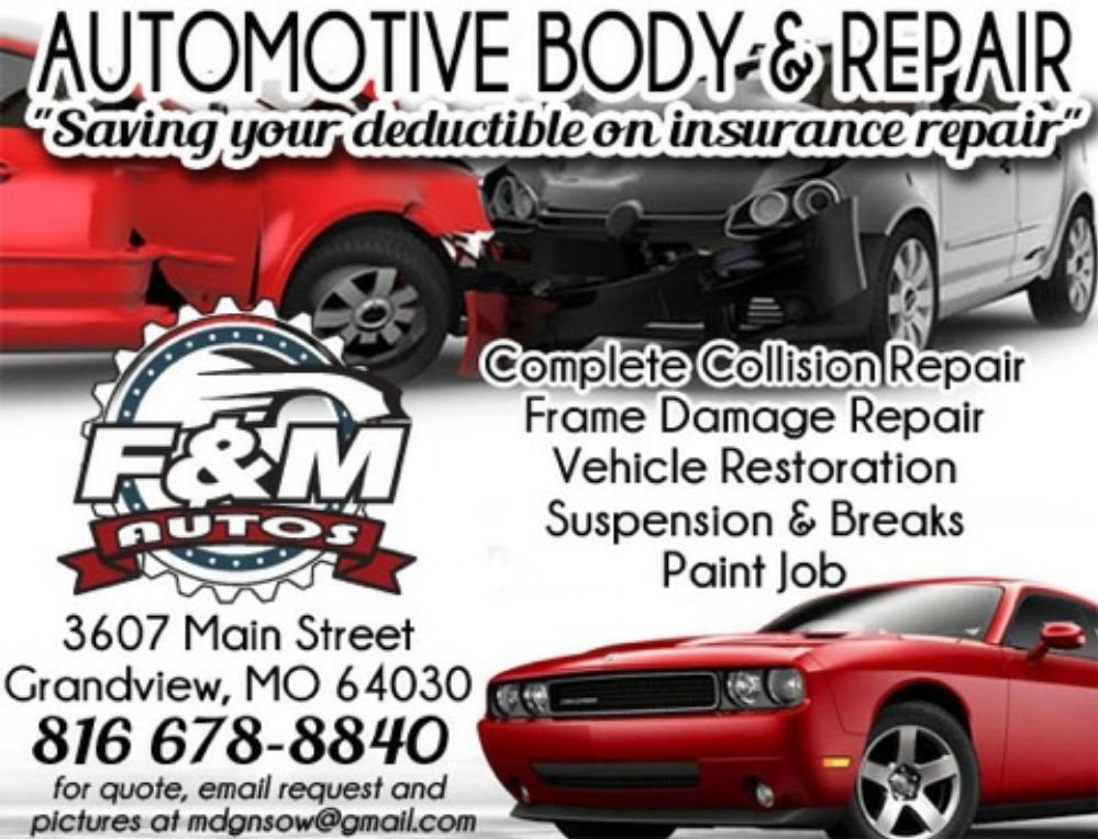 F&M Automotive Body and Repair - Get Quote - Auto Repair - 3607 Main ...