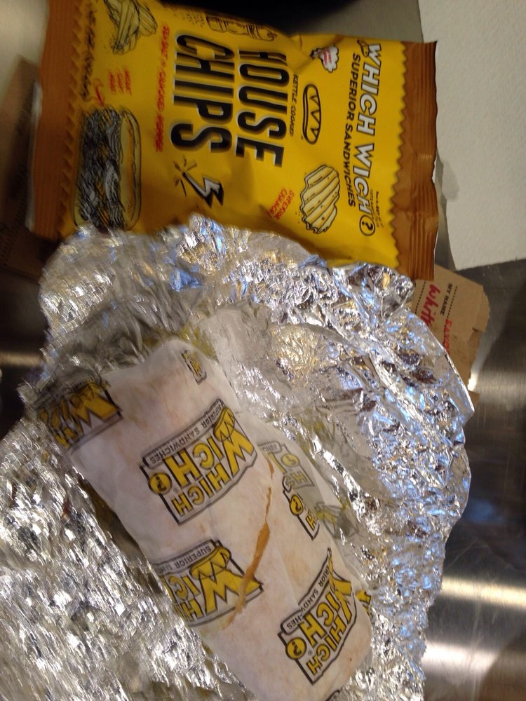 Food from Which Wich Superior Sandwiches