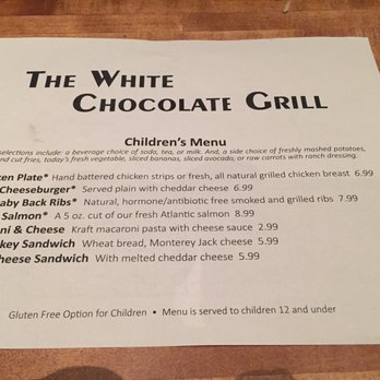 The White Chocolate Grill - 492 Photos & 793 Reviews - American ...