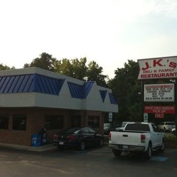 Jk S Family Restaurant Deli Menu
