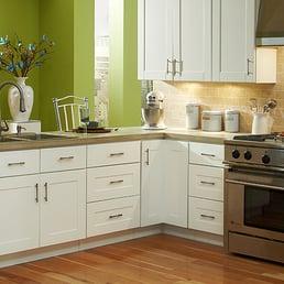 Findley Amp Myers Malibu White Kitchen Cabinets Yelp