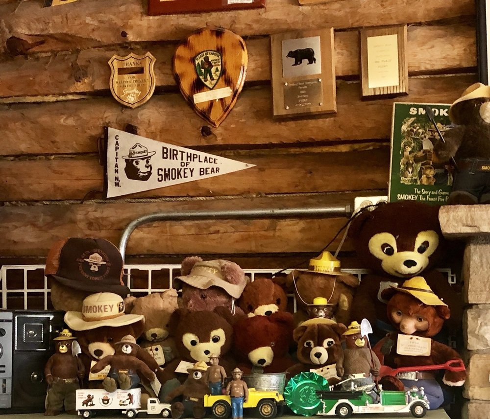 Smokey Bear Museum: 102 Smokey Bear, Capitan, NM