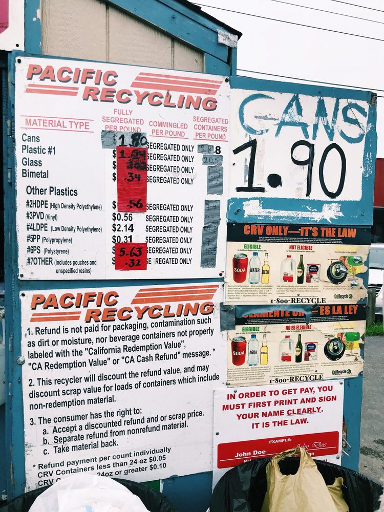 Pacific Recycling: 814 A St, Galt, CA