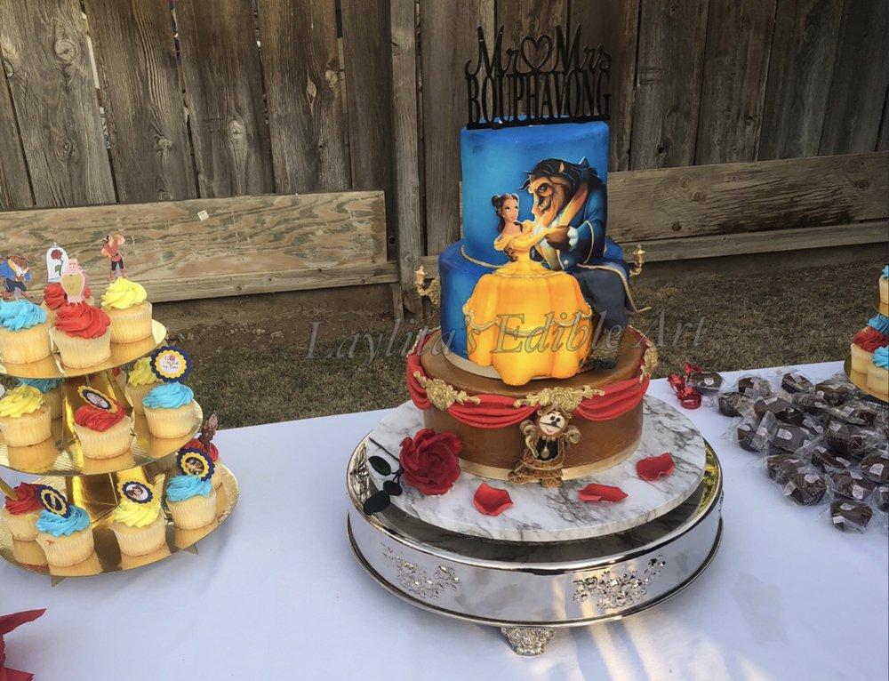 Beauty And The Beast Wedding Cake.Beauty And The Beast Wedding Cake Yelp