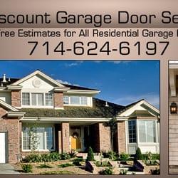Discount Garage Doors anthony s discount garage door service closed garage door