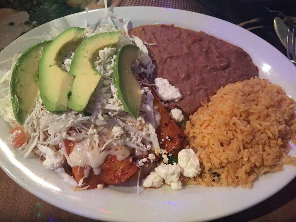 Polvos Mexican Restaurant Menu
