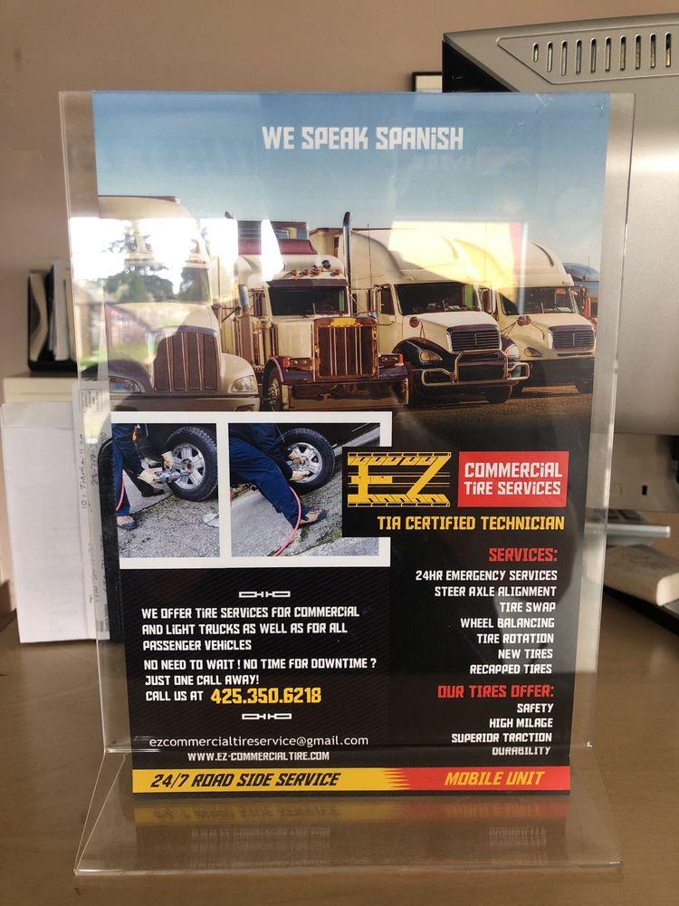 EZ Commercial Tire Services: 17809 WA-9, Snohomish, WA