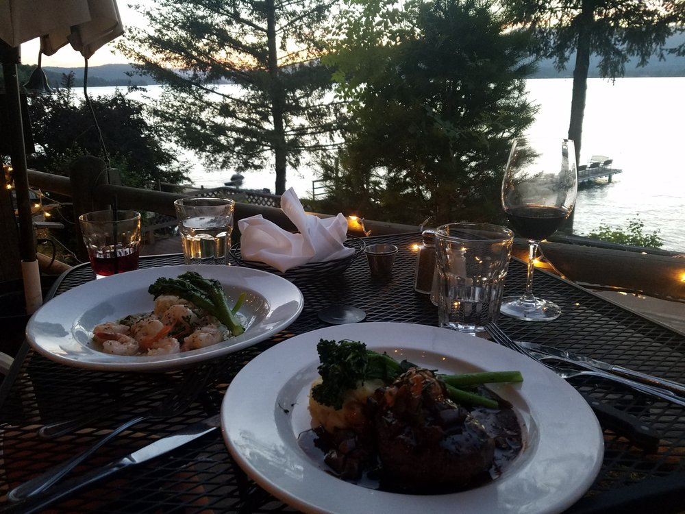 Forty One South Restaurant: 41 Lakeshore Dr, Sagle, ID