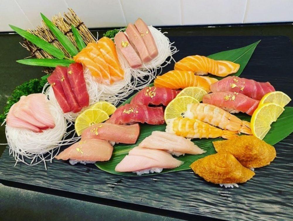 Food from Yuki Izakaya