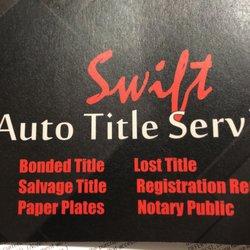 swift auto title services registration services 8707 schumacher rh yelp com