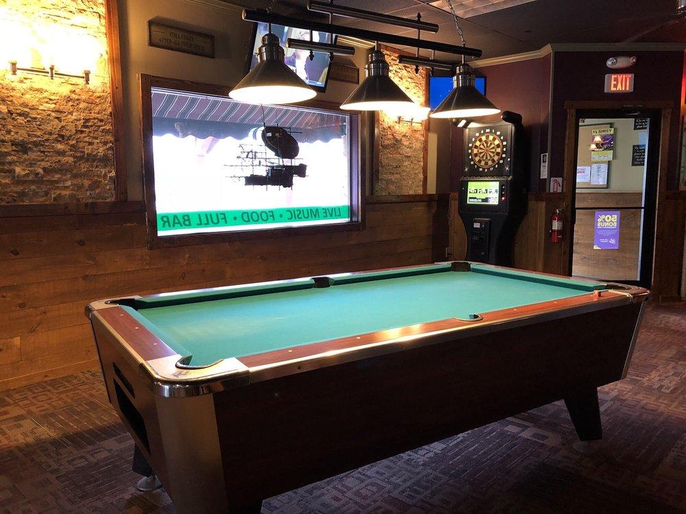 Pool table near bar - Yelp