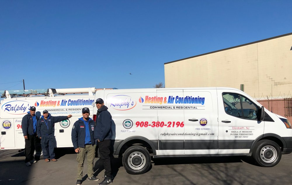 Ralphy's Heating & Air Conditioning: 72 Port Ave, Elizabeth, NJ