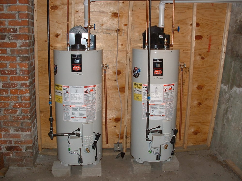 superstor indirect water heater with burnham alpine high efficiency gas boiler yelp - Lochinvar Water Heater