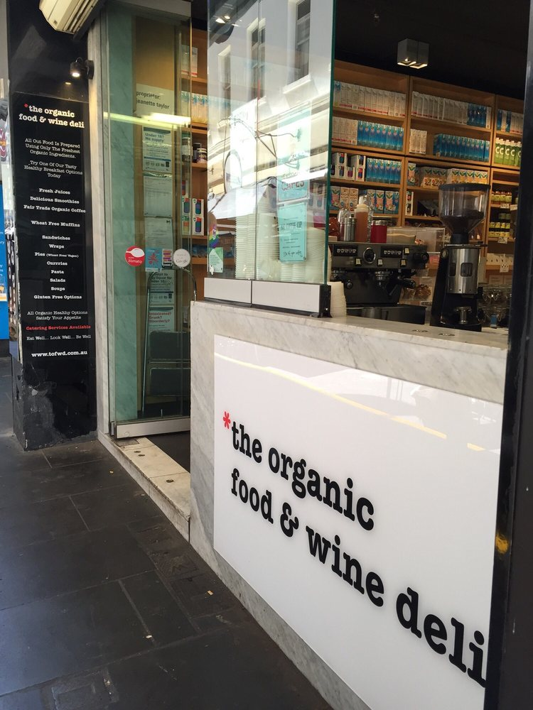 Oganic Food And Wine Deli Melbourne