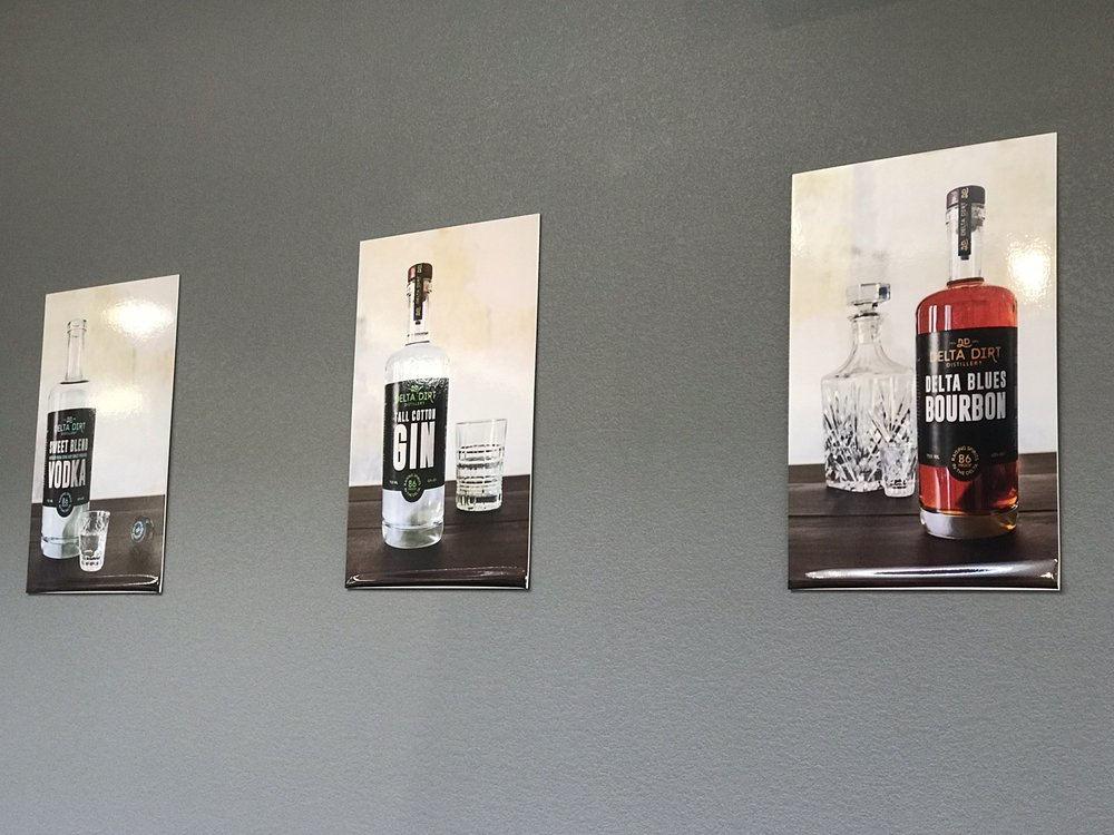 Delta Dirt Distillery: 430 Cherry St, Helena, AR