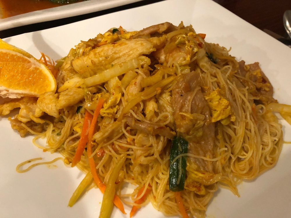 Food from Rainbow Asian Cuisine