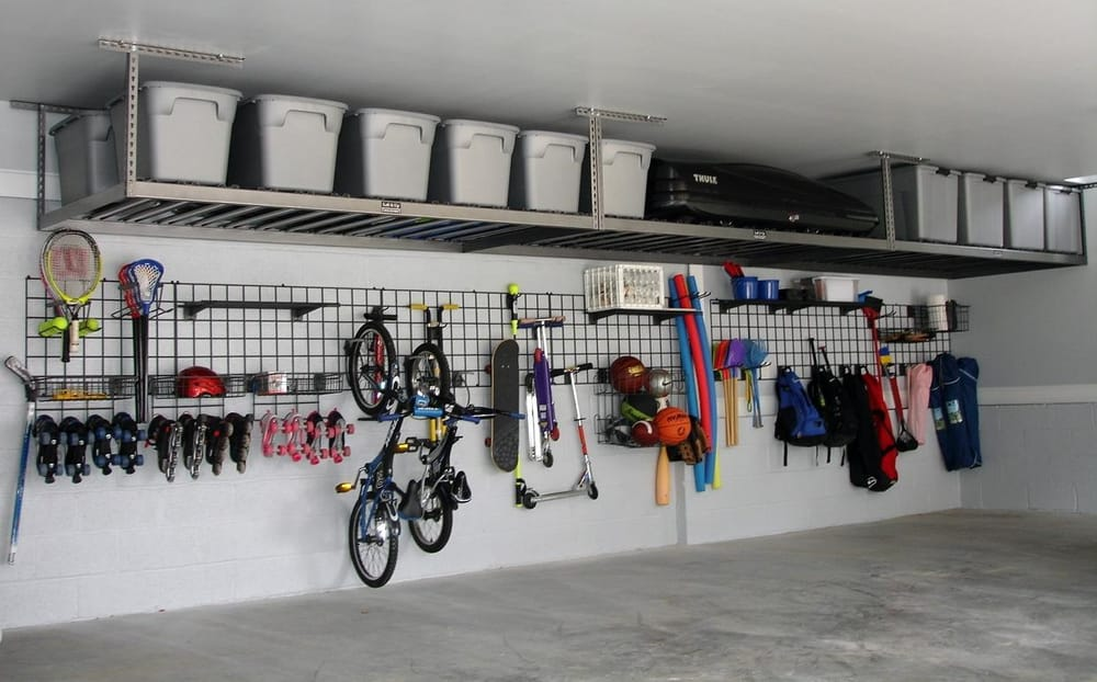 Wall Grids are the best way to organize your garage. They ...