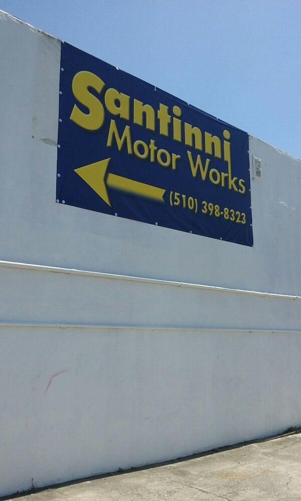 Santinni Motor Works: 16338 E 14th St, San Leandro, CA