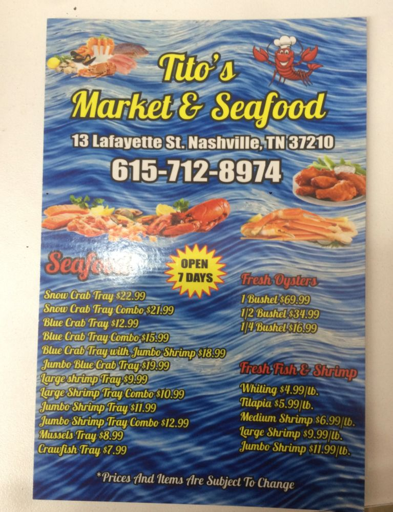 kitos seafood market seafood 13 lafayette st south
