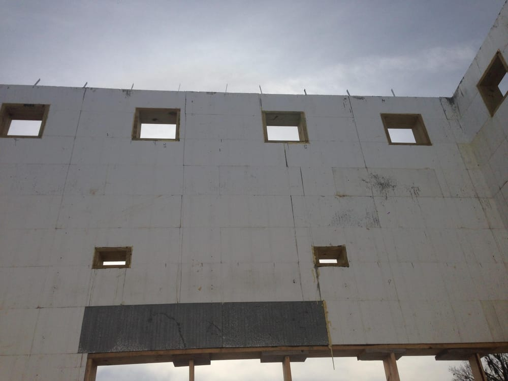 New energy efficient home using logix insulated concrete for Icf florida
