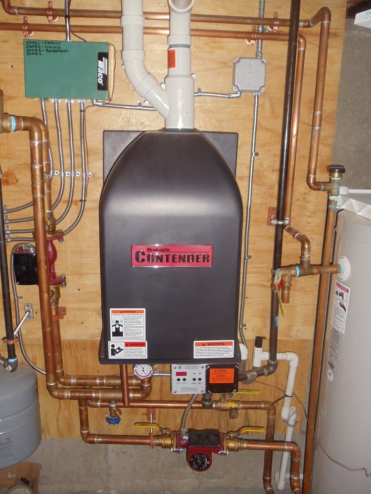 The Munchkin boiler is one of the most compact and efficient ...