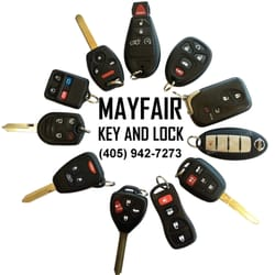 Photo of Mayfair Key \u0026 Lock Shop - Oklahoma City OK United States.  sc 1 st  Yelp & Mayfair Key \u0026 Lock Shop - 24 Photos - Keys \u0026 Locksmiths - 2628 W I ...