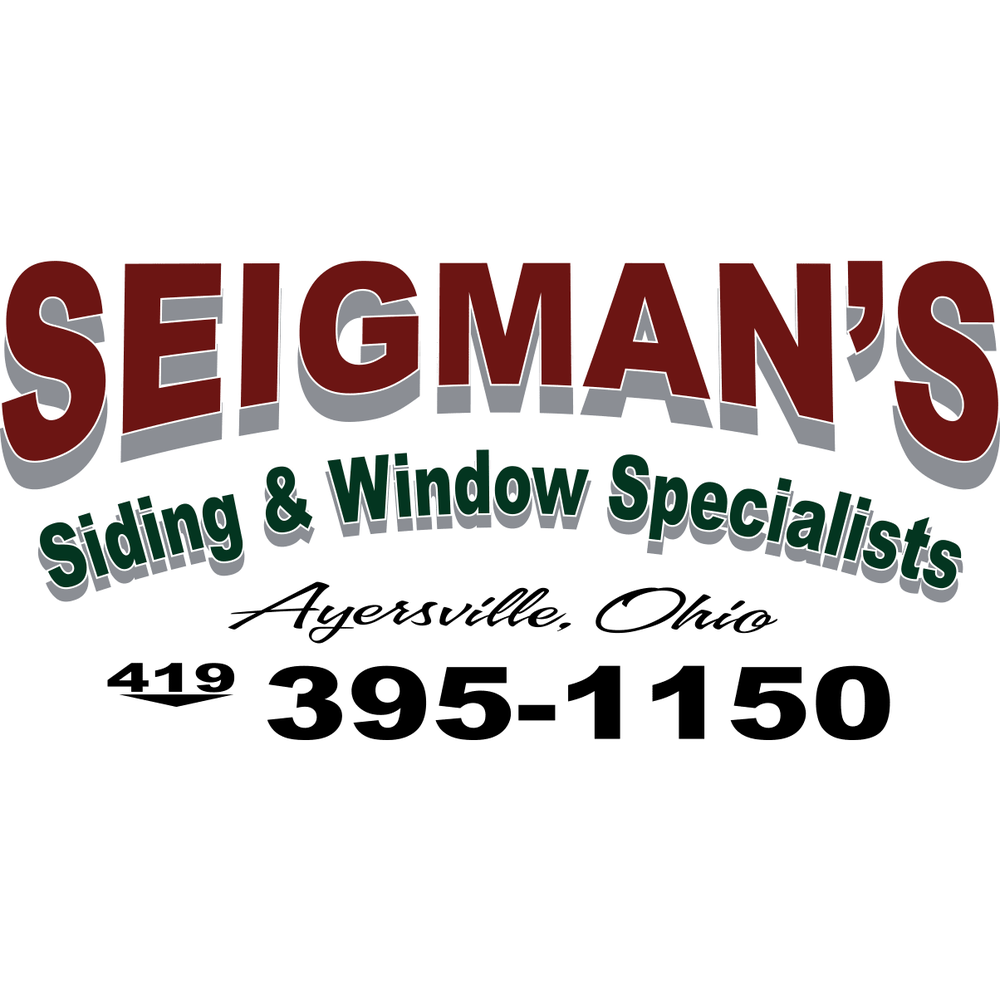 Seigman's Siding & Window Specialists: 15282 Harris Rd, Defiance, OH