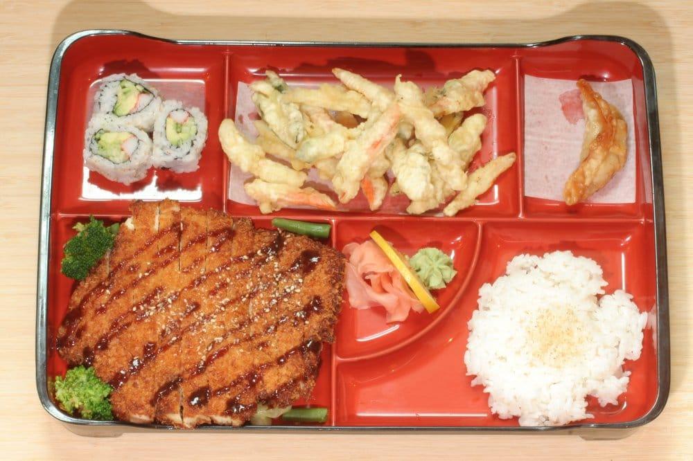 chicken katsu lunch bento box yelp. Black Bedroom Furniture Sets. Home Design Ideas