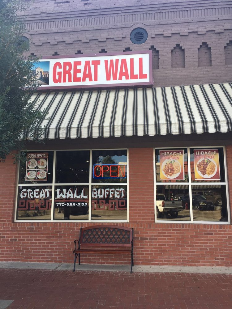 Great Wall Chinese Restaurant: 217 Main St, Barnesville, GA
