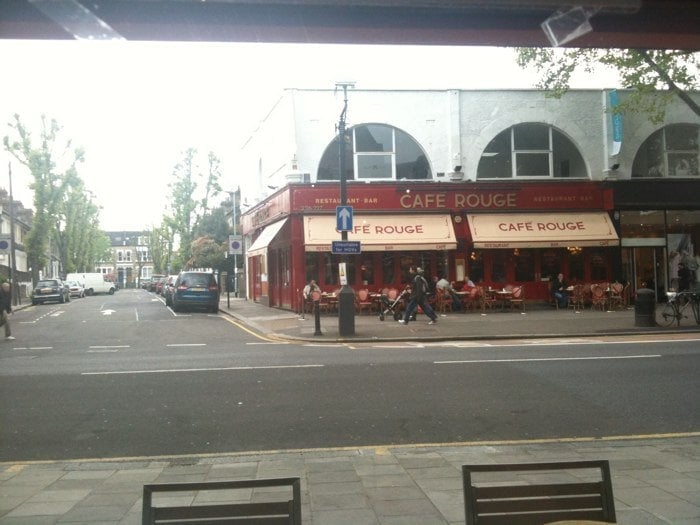 Food Shops On Chiswick High Road