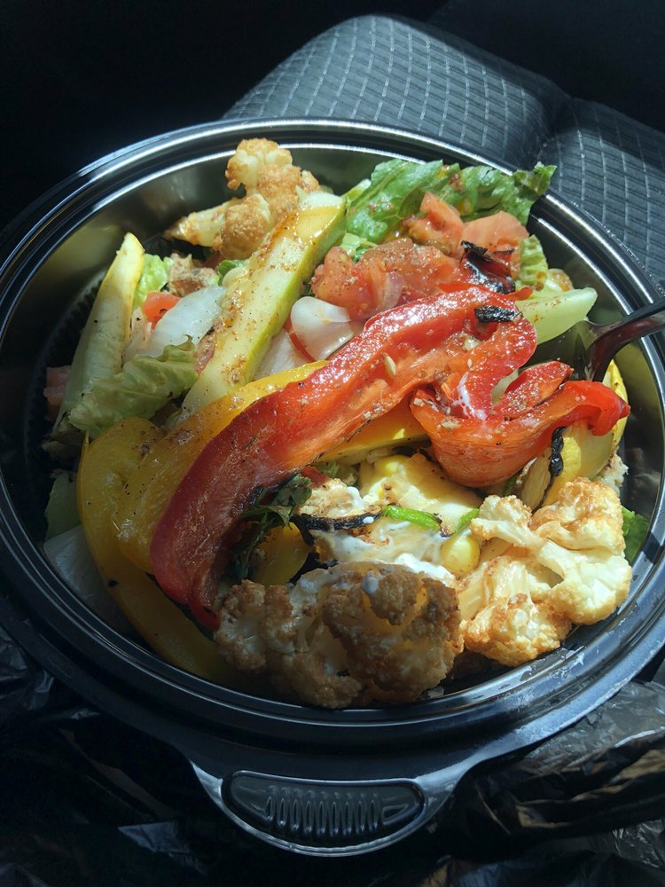 Food from Oliv Epicurean Grill