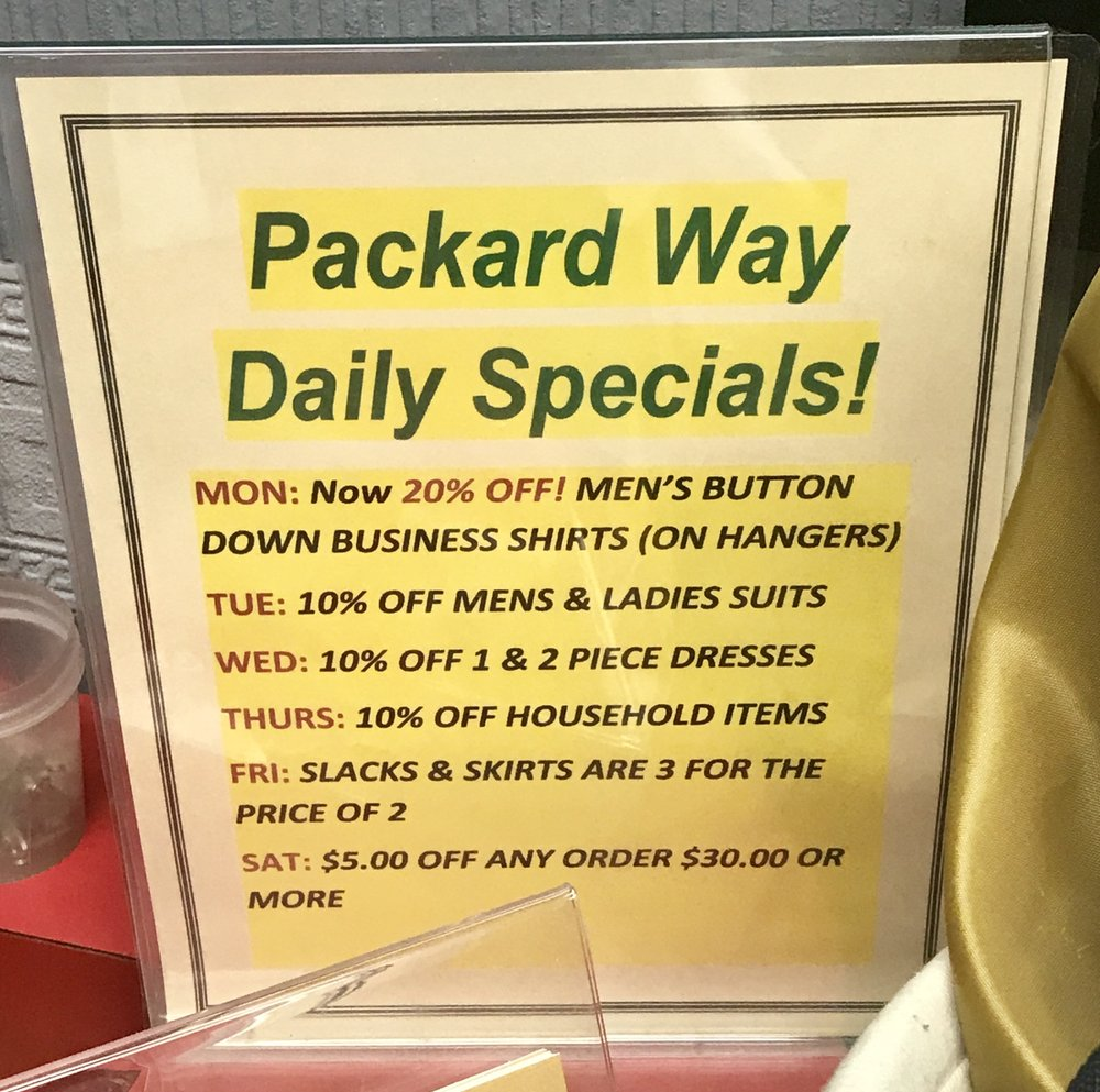 Packard Way Cleaners: 5601 S Pennsylvania Ave, Cudahy, WI