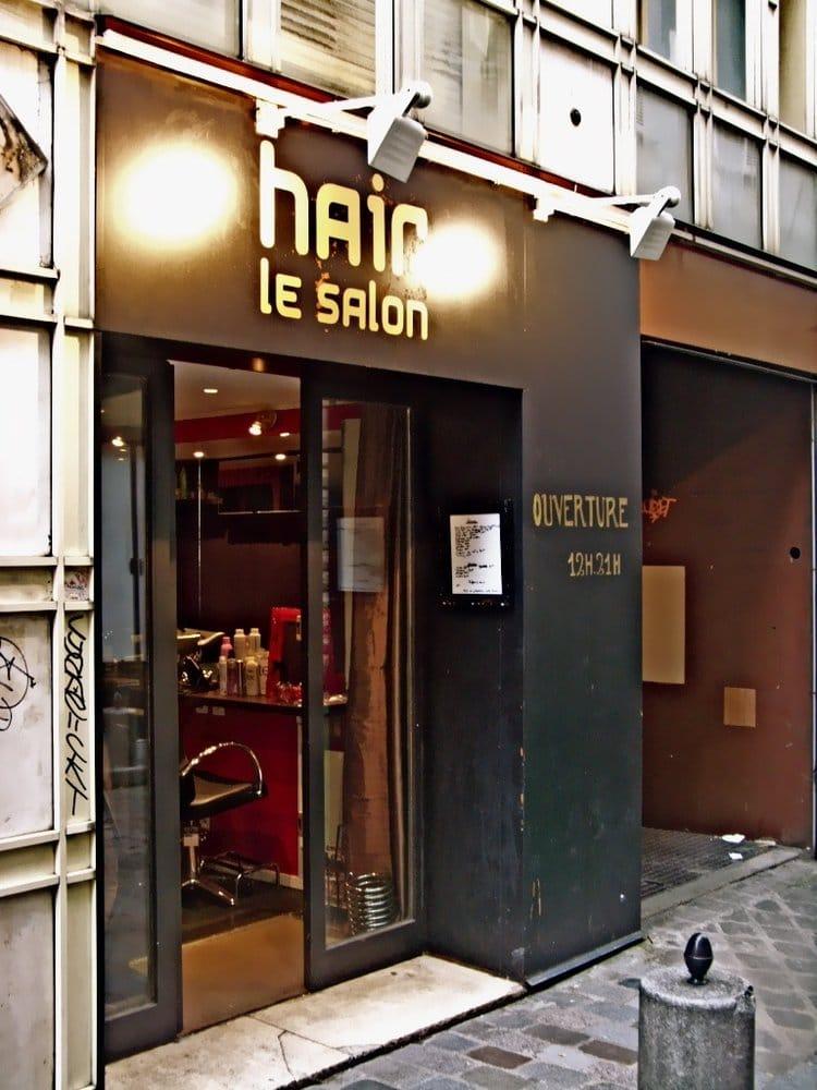 Hair le salon hairdressers 15 rue de lappe bastille for Hair salon paris france