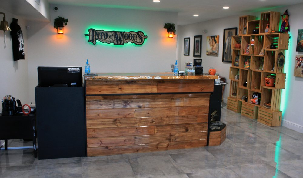 Into the Woods Tattoo Gallery: 420 E Sample Rd, Pompano Beach, FL