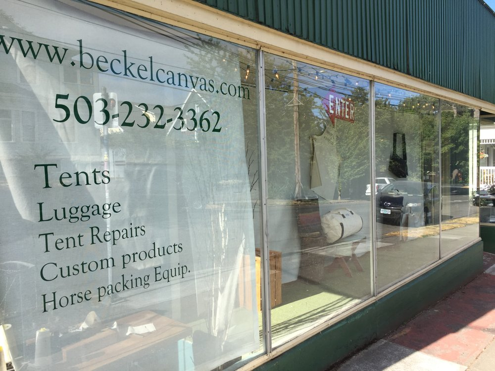 Beckel Canvas Products: 2232 SE Clinton St, Portland, OR