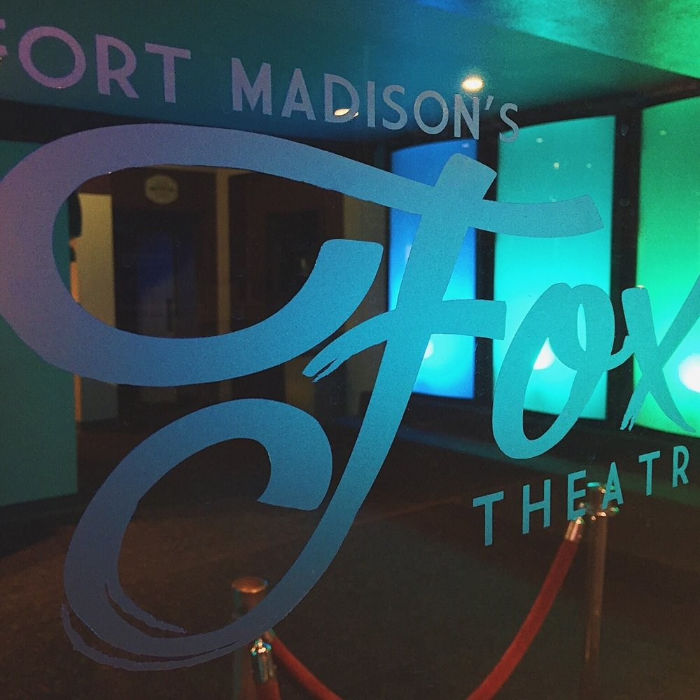 Fox Theatre: 831 Avenue G, Fort Madison, IA