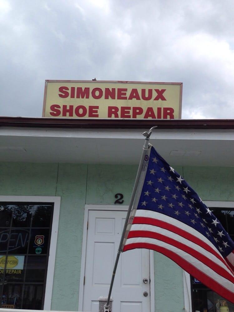 Simoneaux Shoe Repair Pensacola Fl